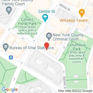 Map Of New York District Courts.Cityedge Site Visit Manhattan District Attorney New York Criminal